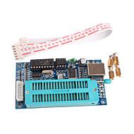 お買い得  Arduino 用アクセサリー-マイクロコントローラを開発するためのUSB自動プログラミングとPICのK150プログラマ