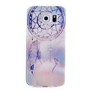 Varten Samsung Galaxy kotelo Kuvio Etui Takakuori Etui Unisieppari TPU varten Samsung S6 S5 Mini S5 S4 Mini S4 S3