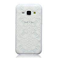 Недорогие Чехлы и кейсы для Galaxy J5-Кейс для Назначение SSamsung Galaxy Кейс для  Samsung Galaxy С узором Кейс на заднюю панель Кружева Печать ТПУ для J5 J1 E7 E5 Alpha
