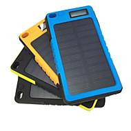 Недорогие Портативные аккумуляторы-Power Bank Внешняя батарея 5V 2.0A #A Зарядное устройство Водонепроницаемость Защита от пыли Подсветка Зарядка от солнца Ударопрочность