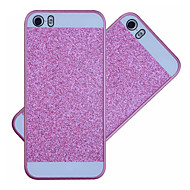 billige Gratis Gavetilbud-Etui Til iPhone 5 iPhone 5 etui Bagcover Glitterskin Hårdt PC for iPhone SE / 5s / iPhone 5