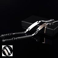 Gepersonaliseerde sieraden - Lovers - RVS - zilver - Armbanden -