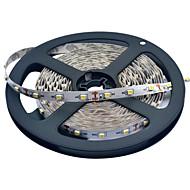JIAWEN® 5 M 300 3528 SMD Warm White / Hvid Chippable / Koblingsbar 25 W Fleksible LED-lysstriber DC12 V
