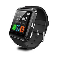 abordables -control de los medios U8 SmartWatch respuesta bluetooth / cámara mensaje / anti-perdió por ios teléfono inteligente / android