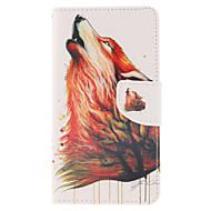 Для Samsung Galaxy Note Кошелек / Бумажник для карт / со стендом / Флип Кейс для Чехол Кейс для Животный принт Искусственная кожа Samsung