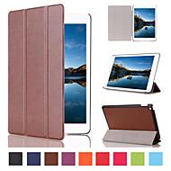 billige Etuier og covers til iPad-7.9 tommer tredobbelt foldning mønster høj kvalitet pu læder taske til iPad (2017) Pro10.5 Pro9.7 iPad Air Air2 iPad234 mini 1234