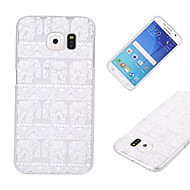 billige Galaxy S5 Mini Etuier-Etui Til Samsung Galaxy Samsung Galaxy etui Transparent Bagcover Elefant PC for S6 edge S6 S5 Mini S5