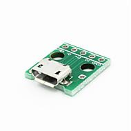 povoljno -Micro USB na 2.54mm zamoči 5-pin modula - zelena
