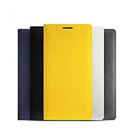 お買い得  携帯電話ケース-ケース 用途 OnePlus OnePlusケース カードホルダー オートオン/オフ フリップ フルボディーケース 純色 ハード PUレザー のために One Plus 2