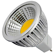 4w gu5.3 (mr16) led spotlight mr16 1 cob 400lm blanc chaud froid blanc 3000k / 6500k décoratif dc 12v