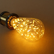 cheap LED Filament Bulbs-E27 3W ST64 Star Edison Light Bulb Decorative Light Source High Quality