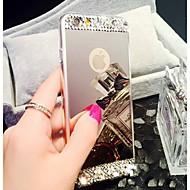 Недорогие Кейсы для iPhone 8 Plus-Кейс для Назначение Apple iPhone 8 iPhone 8 Plus iPhone 6 iPhone 6 Plus iPhone 7 Plus iPhone 7 Стразы Покрытие Зеркальная поверхность