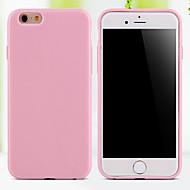 Etui Til iPhone 5 / Apple iPhone 5 etui Bagcover Ensfarvet Blødt TPU for iPhone SE / 5s / iPhone 5