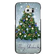 Mert Samsung Galaxy tok Minta Case Hátlap Case Karácsony PC Samsung S6