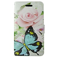 Case For Samsung Galaxy A5(2017) Wallet / Card Holder / with Stand Full Body Cases Butterfly / Flower Hard PU Leather for A5(2017) / A5