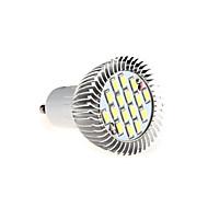 gu10 led spotlight mr16 16 smd 5630 650lm blanco cálido blanco frío 3000k / 6500k decorativo ac 85-265v