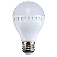 お買い得  LED ボール型電球-500 lm E26/E27 LEDボール型電球 A60(A19) 16 LEDの SMD 装飾用 温白色 クールホワイト AC 100-240V