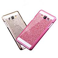 Bling крышки случая блеск порошок крышка крышка корпуса модное телефон с логотипом ультра-тонком корпусе для Samsung Galaxy A3 / A5 / а7