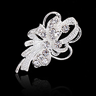cheap Floral Jewelry-Women's Brooches - Crystal, Imitation Diamond Flower Acrylic Diamond, Fashion Brooch For Wedding / Party