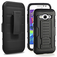 cheap Galaxy J Series Cases / Covers-Case For Samsung Galaxy Samsung Galaxy Case Shockproof / with Stand Back Cover Armor PC for Grand Prime / Core Prime