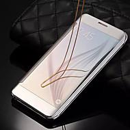 Недорогие Чехлы и кейсы для Galaxy S6 Edge Plus-Кейс для Назначение SSamsung Galaxy Samsung Galaxy S7 Edge Покрытие / Флип Чехол Однотонный Твердый ПК для S8 Plus / S8 / S7 edge