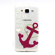 Назначение Кейс для  Samsung Galaxy Чехлы панели Прозрачный Задняя крышка Кейс для анкер Термопластик для SSamsung Galaxy J5