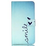 Недорогие Galaxy Trend Lite-Кейс для Назначение SSamsung Galaxy Кейс для  Samsung Galaxy Бумажник для карт Кошелек со стендом Флип С узором Чехол Слова / выражения