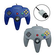 # - N64 - met Gaming Handvat - Metaal / ABS - PS/2 - Controllers - voor Nintendo Wii -