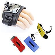 お買い得  スポーツカメラ & GoPro 用アクセサリー-ストラップ / 取付方法 防水 / フローティング ために アクションカメラ ゴプロ6 / フリーサイズ / Gopro 5 潜水 / サーフィン / スキー プラスチック / アルミニウム / Gopro 4 / Gopro 3 / Gopro 2 / Gopro 3+