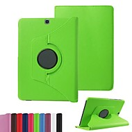 billige Mobilcovers-Etui Til Tab S 10.5 Tab S 8.4 Samsung Galaxy Tab A 9.7 Tab A 8.0 Tab S2 9.7 Tab S2 8.0 Samsung Galaxy etui Med stativ Flip 360° Rotation