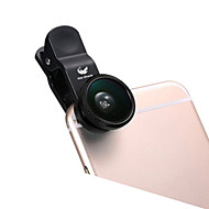 ABS Obiettivo Fish-Eye Grandangolo 10X e oltre 180 Universale iPad Note 4 Note 2 iPhone 5 iPhone 6