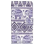 お買い得  携帯電話ケース-ケース 用途 Sony Xperia Z3 ソニーのXperia Z3コンパクト ソニーのXperia M4アクア ソニーのXperia Z5コンパクト Sony Xperia Z3 Sonyケース カードホルダー ウォレット スタンド付き フリップ フルボディーケース 象