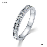 Women's Crystal Couple Rings - Crystal Princess Classic, Simple Style, Fashion 4 For Wedding / Party / Party / Evening / Daily