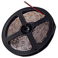 halpa LED-valonauhat-z®zdm led strip valodiodi 3528smd 300led vedenpitävä IP44 sininen / punainen valo DC12V 5m / erä