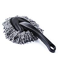 abordables Herramientas de Limpieza-polvo de la suciedad del coche de limpieza plumero polvo cepillo limpio herramienta fregona gris
