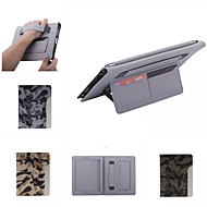halpa iPad kuoret / kotelot-Etui Käyttötarkoitus iPad 4/3/2 Tuella AutomAutomaattinen auki / kiinni Suojakuori Armeijatyyli PU-nahka varten iPad 4/3/2