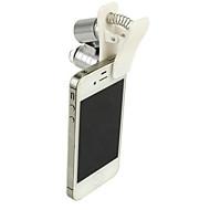 billige Fritidshobbyer-Mikroskop til mobiltelefon / Mikroskop / Forstørrelsesglass Moro / 60 ganger Metall Klassisk Barne Gave