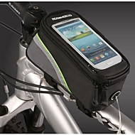 billige -ROSWHEEL Vesker til sykkelramme Mobilveske 4.8 tommers Vanntett Anvendelig Berøringsskjerm Telefon/Iphone Sykling til Samsung Galaxy S4