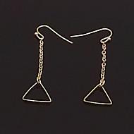 Недорогие $0.99 Модное ювелирное украшение-Жен. Серьги-слезки - Мода Серебряный / Золотой Назначение Повседневные