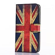 preiswerte Handyhüllen-Hülle Für Samsung Galaxy Samsung Galaxy Hülle Kreditkartenfächer Geldbeutel mit Halterung Flipbare Hülle Muster Ganzkörper-Gehäuse Fahne
