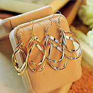Women's Drop Earrings - Statement, Personalized, European Jewelry Silver / Golden For Party Daily Casual