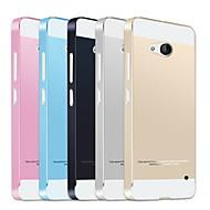 Для Кейс для Nokia Защита от удара Кейс для Задняя крышка Кейс для Один цвет Твердый Акрил Nokia Nokia Lumia 640