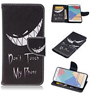 Для Кейс для  Samsung Galaxy Бумажник для карт / со стендом / Флип / С узором / Магнитный Кейс для Чехол Кейс для Слова / выражения