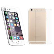 preiswerte iPhone Bildschirm Schutzfolien-Displayschutzfolie für Apple iPhone 6s Plus / iPhone 6 Plus Hartglas 1 Stück Vorderer & hinterer Bildschirmschutz 2.5D abgerundete Ecken / Explosionsgeschützte / iPhone 6s / 6
