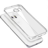 お買い得  Galaxy S6 Edge Plus ケース / カバー-のために Samsung Galaxy ケース クリア ケース バックカバー ケース ソリッドカラー PC Samsung S6 edge plus / S6 edge / S6 / S5