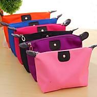 お買い得  浴室用小物-旅行は、ポータブル化粧品のハンドバッグの主催者の財布ライナーを挿入きちんと化粧トラベルトイレタリーバッグ(ランダムな色)