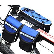 저렴한 -FJQXZ® 자전거 가방 3LL자전거 프레임 백 방수 / 비 방지 / 다기능 싸이클 가방 나이론 싸이클 백 전체 핸드폰 사이클링 25*17*7