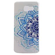 halpa Galaxy A7(2016) kotelot / kuoret-Varten Samsung Galaxy kotelo Kuvio Etui Takakuori Etui Mandala TPU Samsung A7(2016) / A5(2016) / A3(2016)
