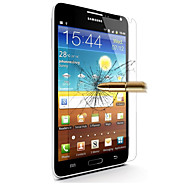 olcso Galaxy Note Képernyővédő fóliák-Képernyővédő fólia Samsung Galaxy mert Edzett üveg Kijelzővédő fólia Anti-ujjlenyomat
