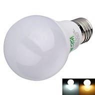 E26/E27 Bombillas LED de Globo A60(A19) 16 leds SMD 2835 Decorativa Blanco Cálido Blanco Fresco 600lm 2800-3200/6000-6500K AC 100-240V